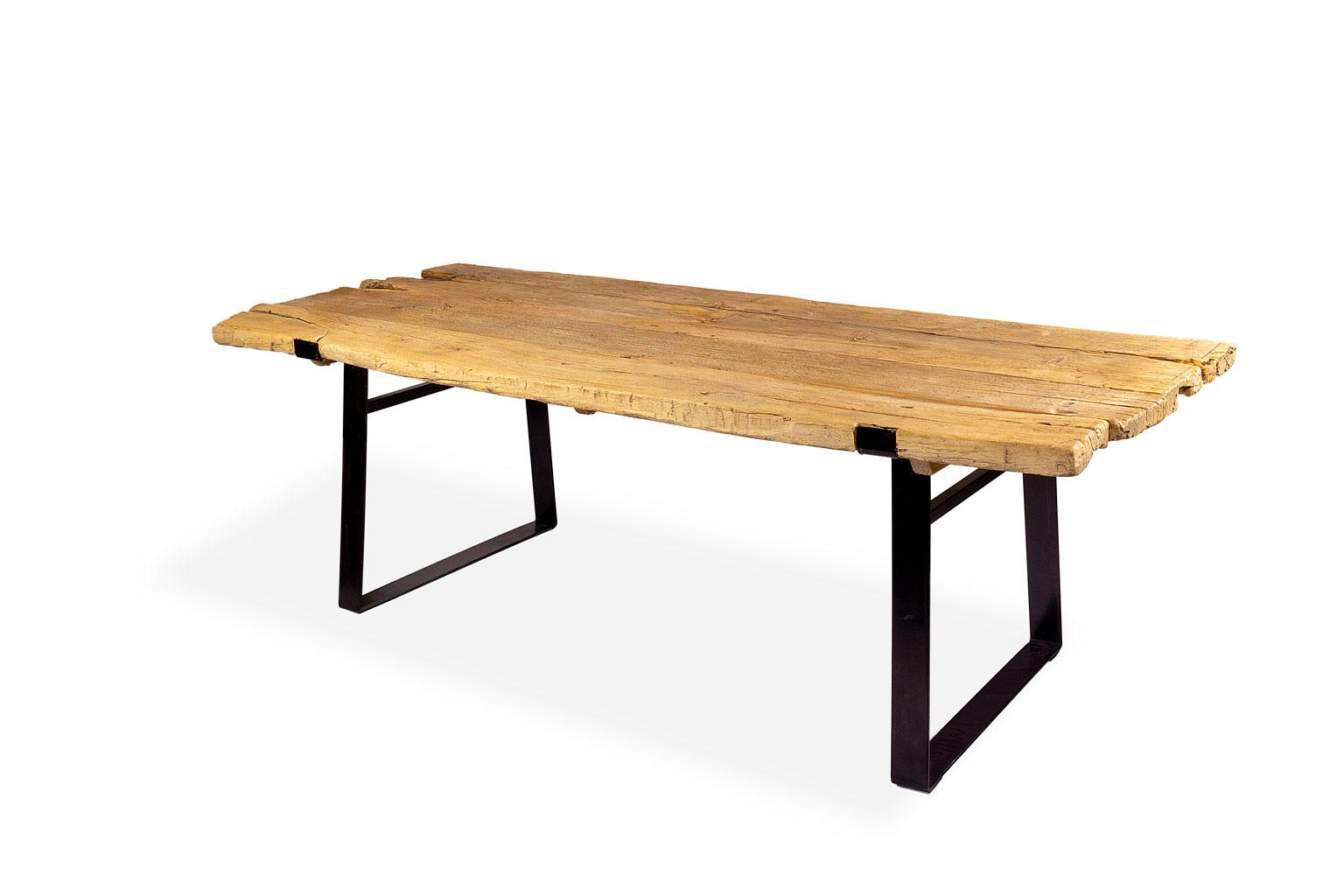 Mesa comedor madera rústica - Dec Condisenño